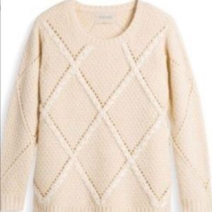 Moon River Cream Sweater